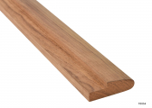 Teak Bunk Rail Molding, about 2 m