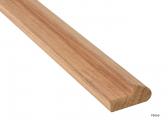 Teak Rail Molding, approx. 2 m