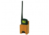 Support en teck pour VHF