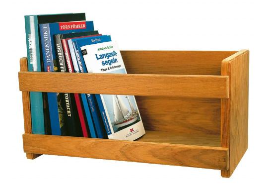 Geben Sie Ihren Lieblingsbüchern einen angemessenen Platz! Im diesem Bücherregal aus edlem Teakholz sind Ihr Schmöker gut aufgehoben.