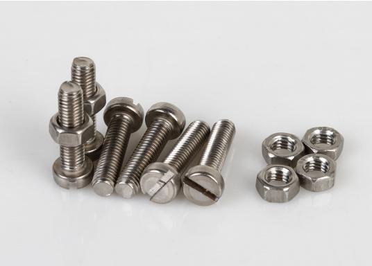 Zylinder-Schrauben in vielen verschiedenen Größen. Erhältlich als SB-Verpackung mit Muttern oder als Großpackung ohne Muttern.  (Bild 5 von 8)