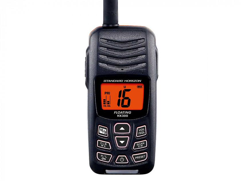 STANDARD HORIZON UKW-Handfunkgerät HX300E nur 149,95 € jetzt kaufen ...