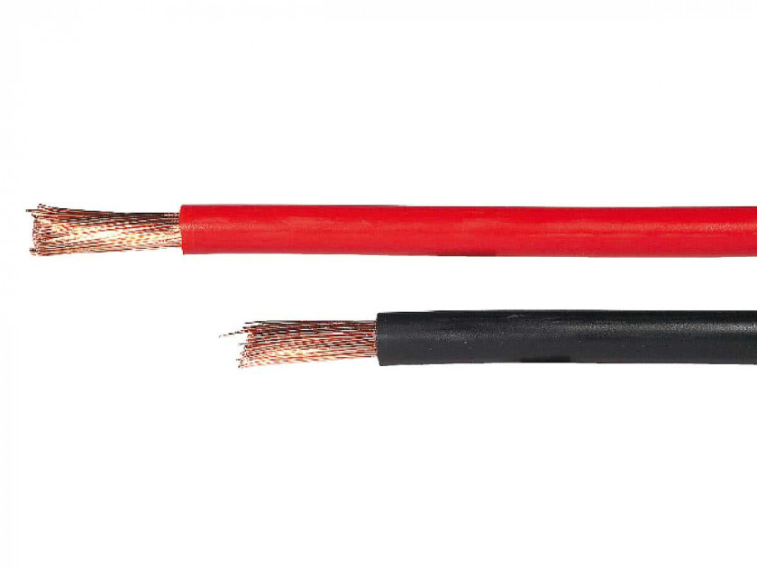 RED Marine TINNED Flexible Battery Cable 25 mm² per metre Yacht Boat Ocean Flex