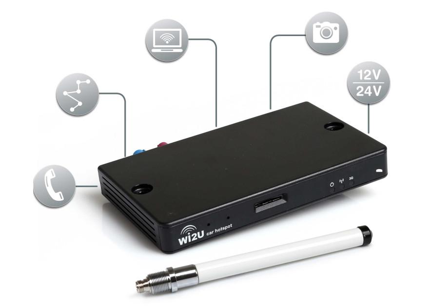 LESSWIRE - 3G Router Wi2U Komplettset jetzt kaufen | SVB Yacht- und ...
