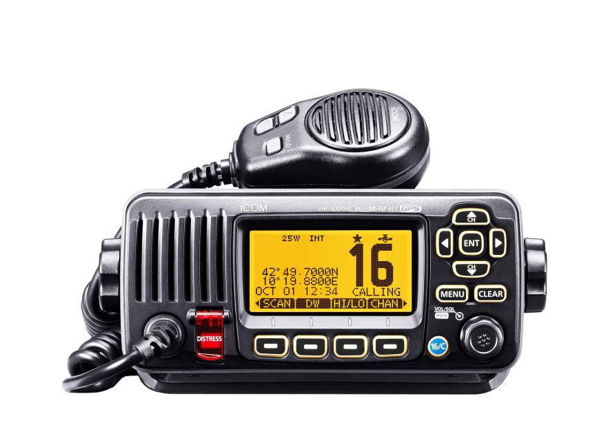 Jabsco Toilet Aanbieding : Vhf radio ic m323g with integr. gps receiver buy now svb yacht