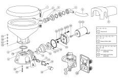 Dimensions standard / vanne solénoïde / 37045-30xx